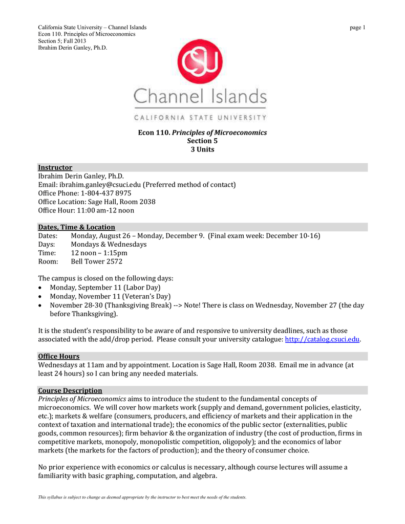 Section 5 - California State University Channel Islands