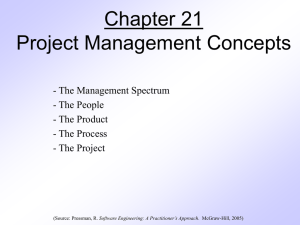 pressman -ch-21-project-management