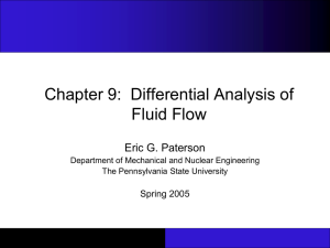 ME33: Fluid Flow Lecture 1: Information and Introduction