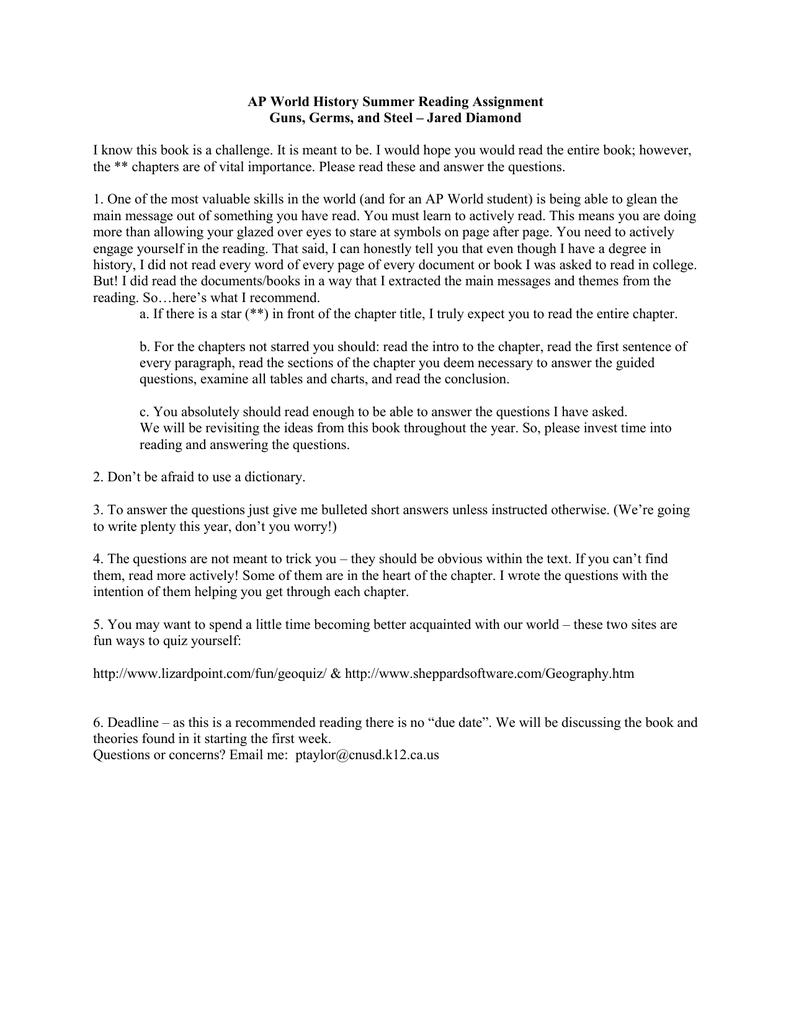 Argumentative essay handout