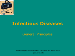 Combating Infections
