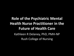Role Of The Psychiatric