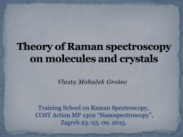 Basis of Raman spectroscopy