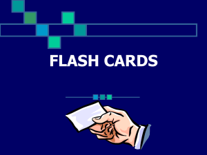 flash cards - Piano Pages
