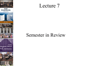 2017-Lecture 07 Semester in Review