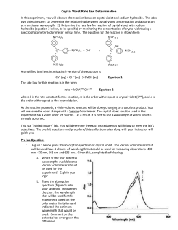 ap chemistry kinetics lab Ap chemistry labs and lab notebooks the laboratory experience is an essential part of your understanding of chemistry the experiments that you will perform have been chosen carefully to fulfill this purpose.