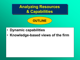 Figure 5.1. Shifting From an Industry Focus to a Resource Focus