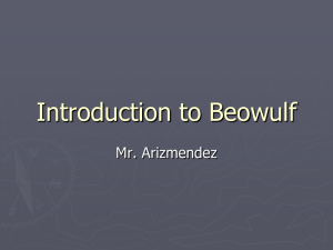 Beowulf - My CCSD