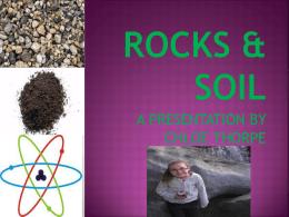 rocks & soil - St Helens Park Public School