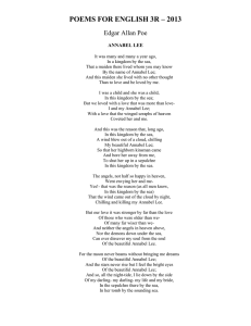 poems for english 3r – 2013