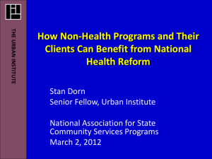 How Non-Health Programs and Their Clients Can Benefit