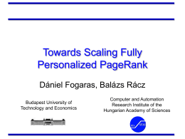 Towards Scaling Fully Personalized PageRank