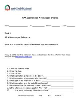 Apa citation article in edited book