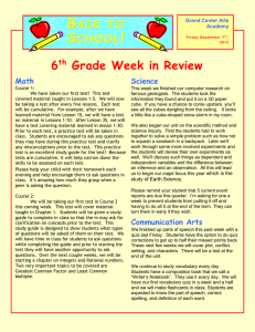 Newsletter-Week-4 - Grand Center Arts Academy