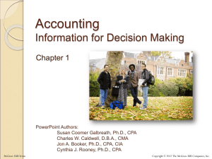 Chapter Title - McGraw Hill Higher Education