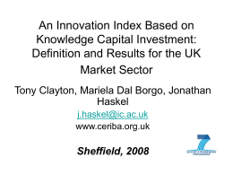 Does Investment in Intangible Assets Explain the UK