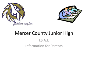 ISAT - Mercer County