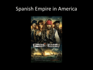 Spanish Empire in America - New Paltz Central School District