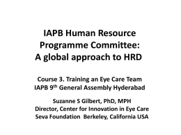 Dr Suzanne Gilbert_A Global Approach to Human Resources