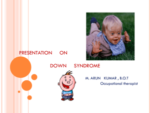 Down Syndrome (Click to download)