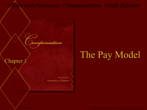 Compensation, Ninth Edition