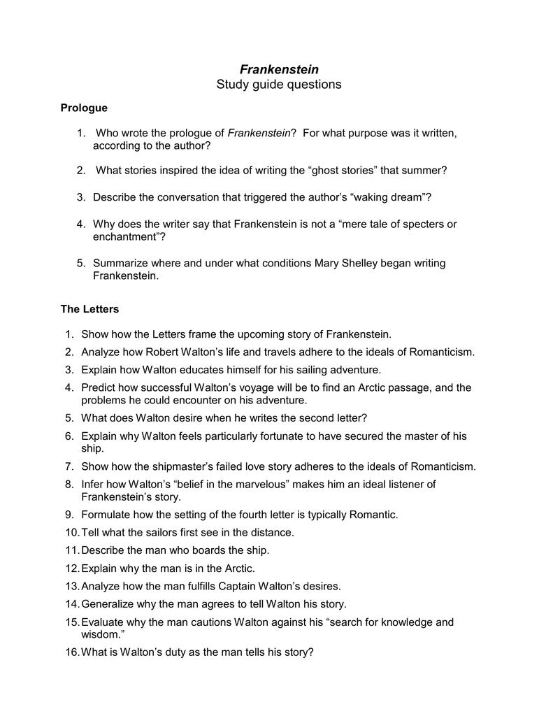 frankenstein rh studylib net