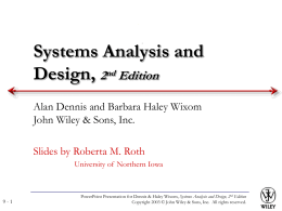 Systems analysis and design allen dennis and barbara haley text architecture design ccuart Images