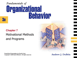 Fundamentals of Organizational Behavior 3e.