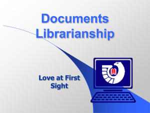 U. S. Depository Library System - UM Personal World Wide Web