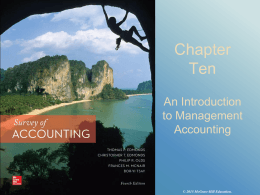 Chapter Nine - McGraw Hill Higher Education - McGraw