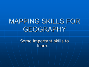 mapping skills for geography - kcpe-kcse