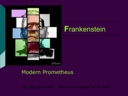 frankenstein research topics Frankenstein research paper edit 0 117 topics: see brave new world page for topics related to science, nature, or human perfection.