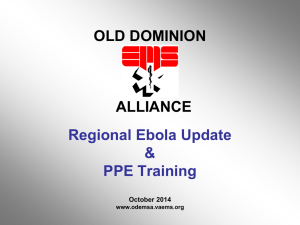 Ebola PPE Training - Powerpoint 10-2014