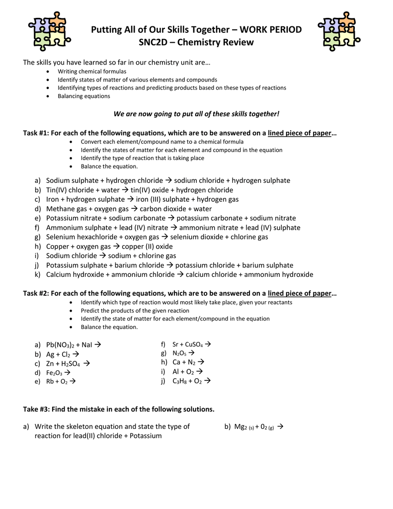 Zn Cuso4 Balanced Equation Jennarocca – Chemfiesta Balancing Equations Worksheet