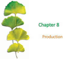 Production function - McGraw Hill Higher Education