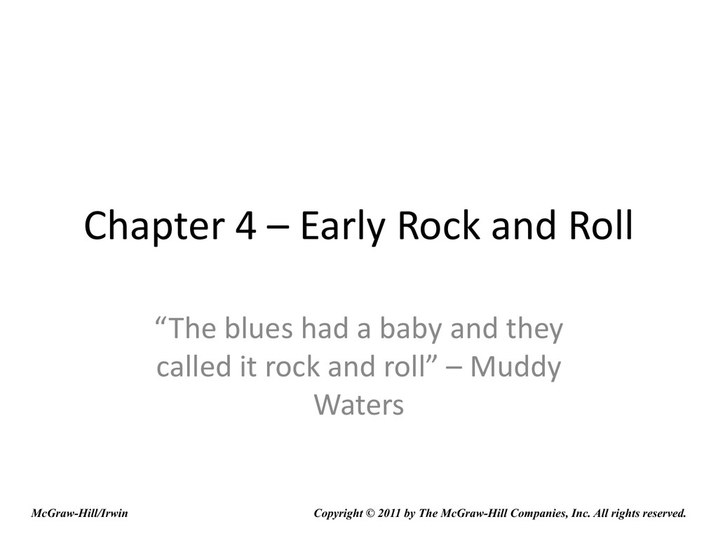 Chapter 4 early rock and roll hexwebz Images