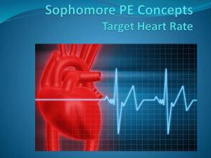Target Heart Rate PowerPoint