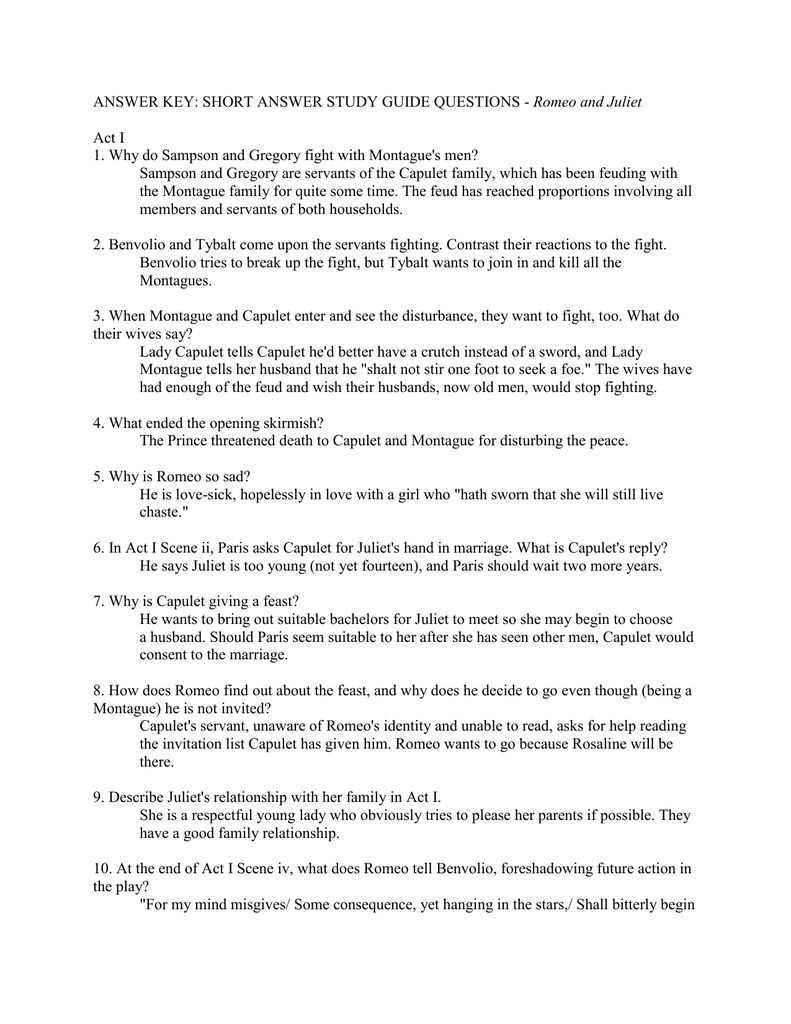 romeo juliet act iii study questions essay The following codes before the questions will help you to know where to find the answers p-prologue s1-scene 1 s2-scene 2 s3-scene 3 s4-scene 4 s.
