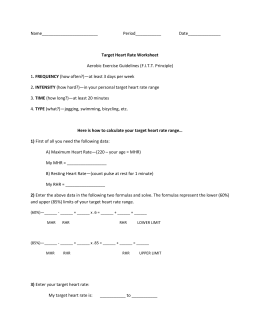 Worksheets Target Heart Rate Worksheet target heart rate worksheet range