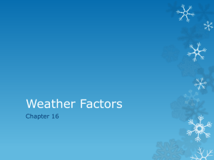 Weather Factors