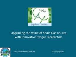 File - Shale Gas Innovation & Commercialization Center