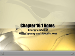 Thermo notes part 1
