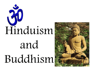 India, Buddhism and Hinduism