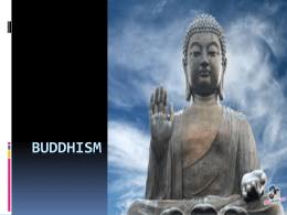 Buddhism ppt 2015