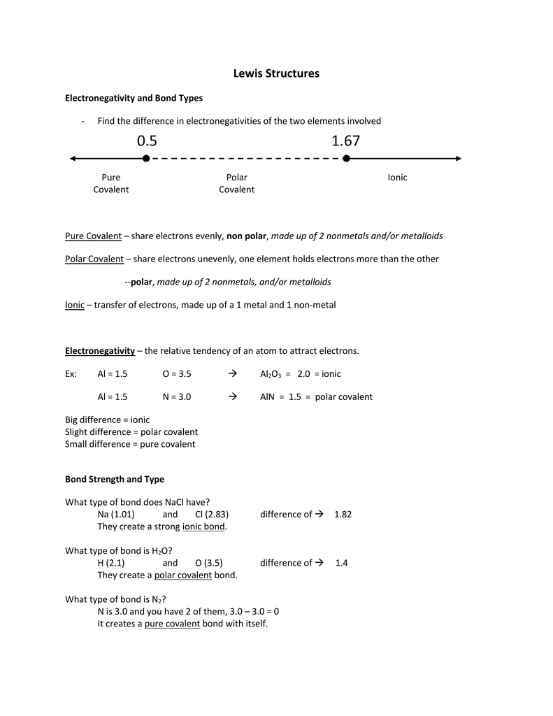 13 Lewis Structures