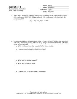 Printables Limiting Reactant Worksheet limiting reactant worksheet 2 8 24 iowa state university
