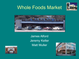 Whole Foods Market Updated
