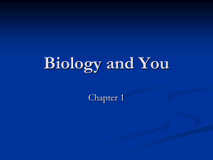 Biology and You