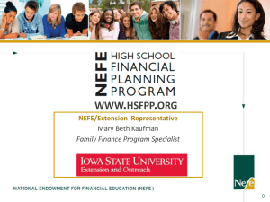 High School Financial Planning Program© (HSFPP)