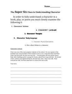 The Super Six Clues to Understanding Character